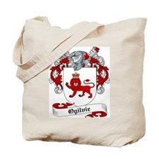 Ogilvie Family Crest Tote Bag