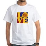 Software Engineering Love White T-Shirt