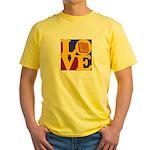 Software Engineering Love Yellow T-Shirt
