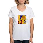 Software Engineering Love Women's V-Neck T-Shirt