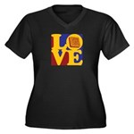 Software Engineering Love Women's Plus Size V-Neck