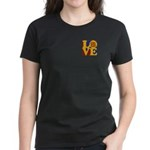 Software Engineering Love Women's Dark T-Shirt