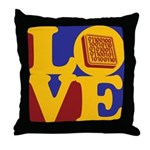 Software Engineering Love Throw Pillow