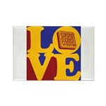 Software Engineering Love Rectangle Magnet