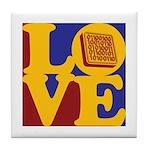 Software Engineering Love Tile Coaster