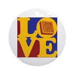 Software Engineering Love Ornament (Round)