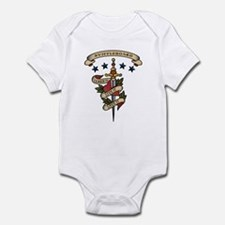 Love Shuffleboard Infant Bodysuit