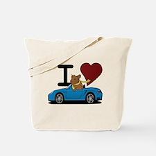 I heart Hamster Tote Bag