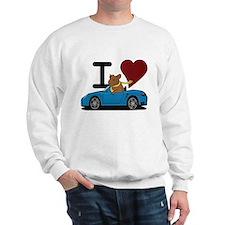 I heart Hamster Sweatshirt