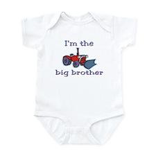 Big Brother tractor Infant Bodysuit