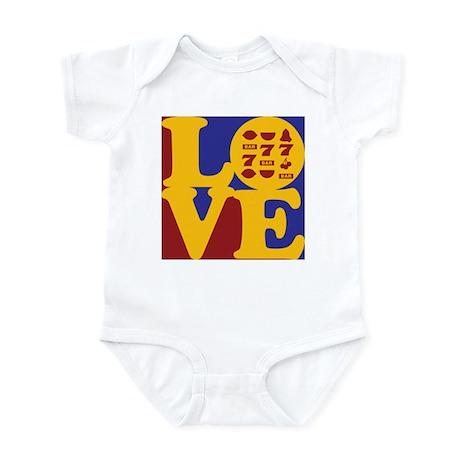 Slots Love Infant Bodysuit