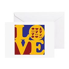 Slots Love Greeting Card
