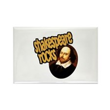 Shakespeare Rocks Rectangle Magnet