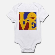 Skydiving Love Infant Bodysuit