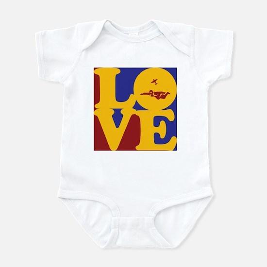Skydiving Love Infant Bodysuit