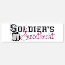Soldier's Sweetheart Bumper Bumper Bumper Sticker