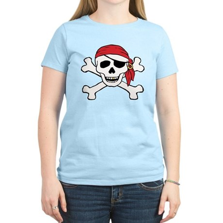 Funny Pirate Women's Light T-Shirt