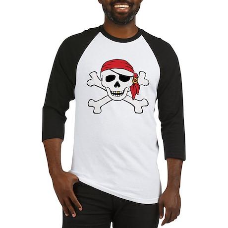 Funny Pirate Baseball Jersey