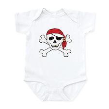 Funny Pirate Infant Bodysuit