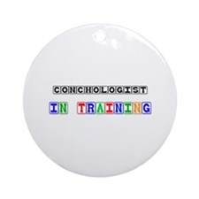 Conchologist In Training Ornament (Round)