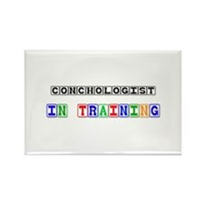Conchologist In Training Rectangle Magnet