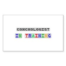 Conchologist In Training Rectangle Sticker