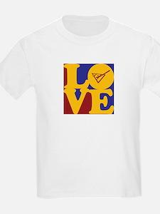 Shuffleboard Love T-Shirt