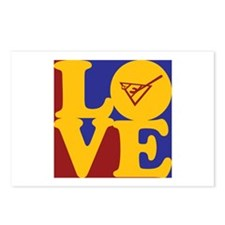 Shuffleboard Love Postcards (Package of 8)