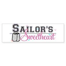 Sailor's Sweetheart Bumper Bumper Sticker