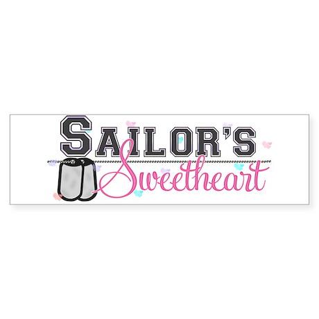 Sailor's Sweetheart Bumper Sticker