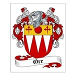 Orr Family Crest Small Poster