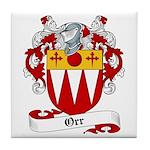 Orr Family Crest Tile Coaster