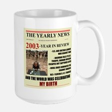 born in 2003 birthday gift Large Mug