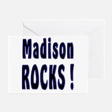 Madison Rocks ! Greeting Cards (Pk of 10)