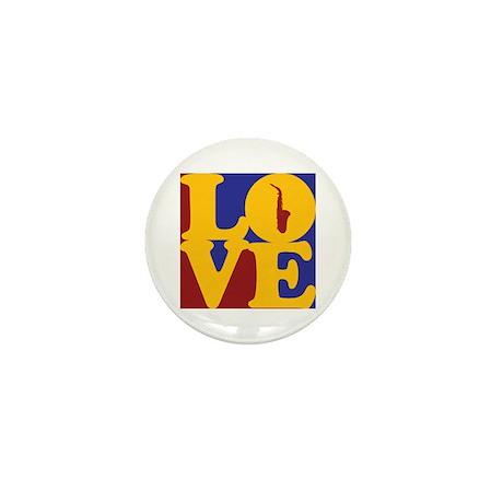 Saxophone Love Mini Button (10 pack)