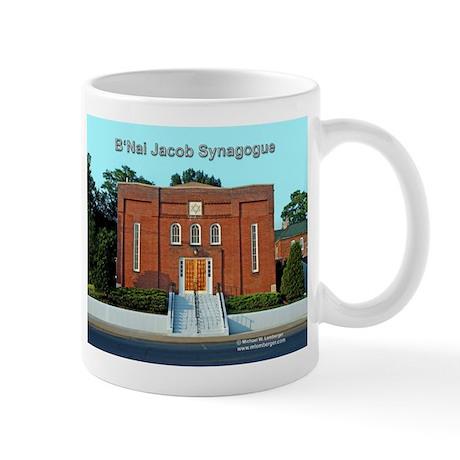 B'Nai Jacob Synogogue Mug