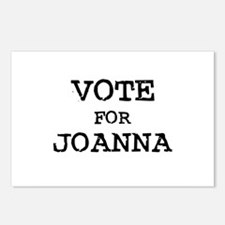 Vote for Joanna Postcards (Package of 8)
