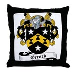 Orrock Family Crest Throw Pillow