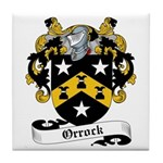 Orrock Family Crest Tile Coaster
