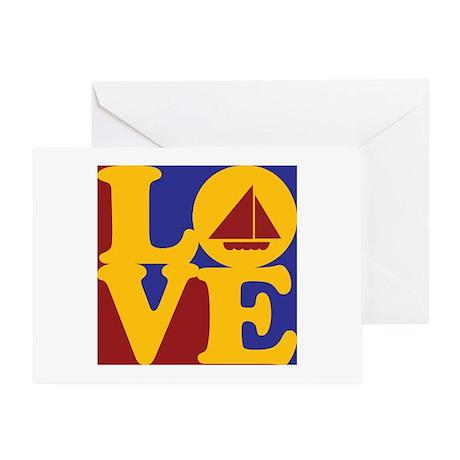 Sailing Love Greeting Card