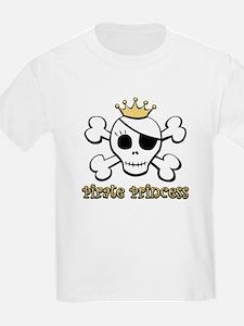 Funny Pirate Princess T-Shirt