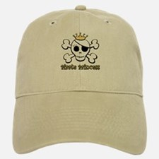Funny Pirate Princess Baseball Baseball Cap