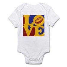 Rugby Love Infant Bodysuit