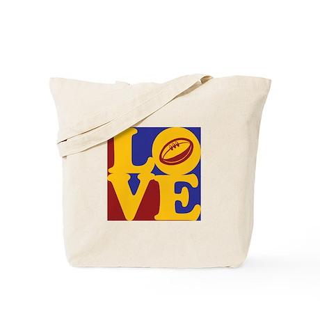 Rugby Love Tote Bag