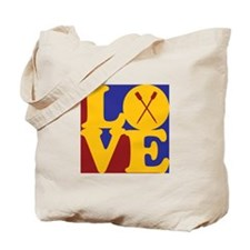 Rowing Love Tote Bag