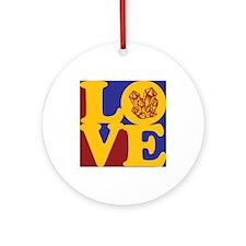 Rockhounding Love Ornament (Round)