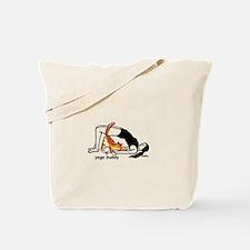 yoga buddy bridge Tote Bag