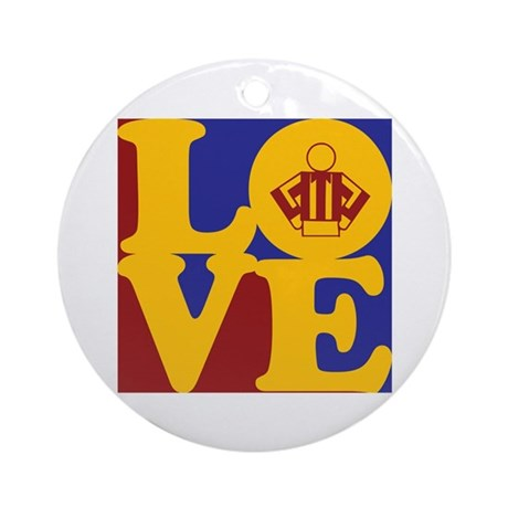 Refereeing Love Ornament (Round)