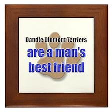 Dandie Dinmont Terriers man's best friend Framed T
