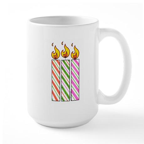 """Large Mug: """"Three Wishes"""""""